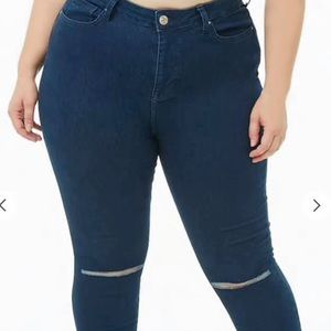 NWT Forever 21 plus size jeans size 20